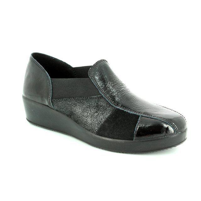 IMAC Everyday Shoes - Black multi patent - 62040/4200011 GLAM  62