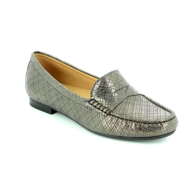 Ambition Flora 62 29102-40 Pewter multi loafers