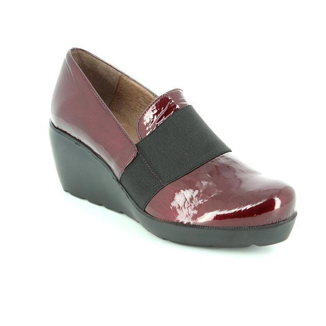 Wonders Heeled Shoes - Wine patent - H2083/80 FLYER 62