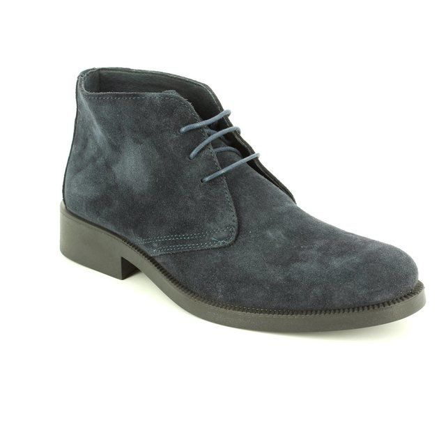 IMAC 60321-7641009 Navy suede boots