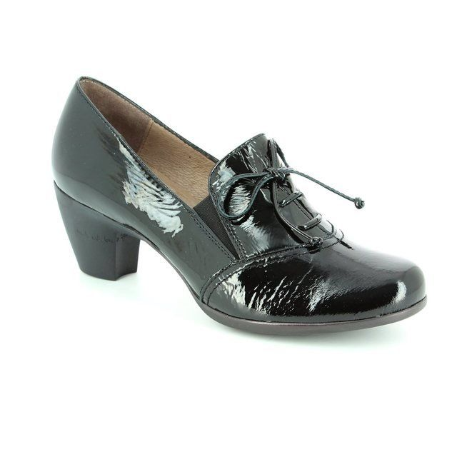 Wonders Heeled Shoes - Black patent - G3612/30 WIND 62