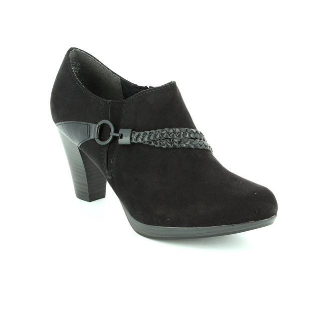 Marco Tozzi Heeled Shoes - Black - 24408/098 SENAGOZA