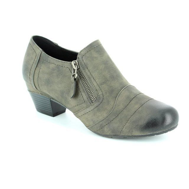 Hengst Heeled Shoes - Grey - 223106/81 HENSAR