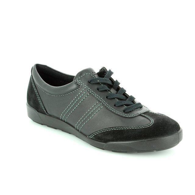 ECCO Crisp 62 214603-51052 Black lacing shoes