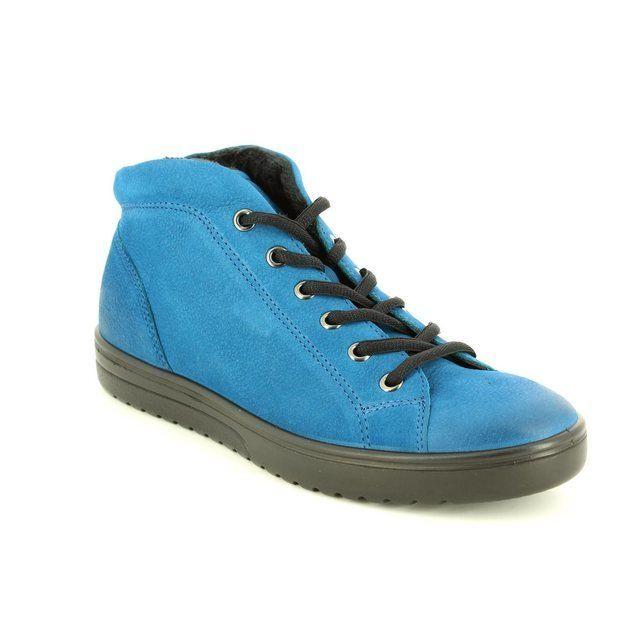 ECCO Fara Hi 235343-02269 Blue ankle boots