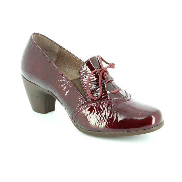 Wonders G3612-80 Wine patent shoe-boots