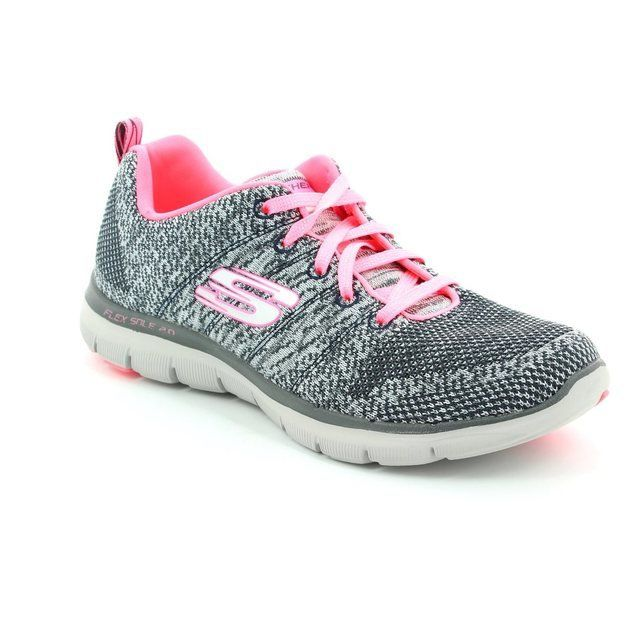 Skechers Trainers & Canvas - Charcoal - 12756/668 FLEX APPEAL 2