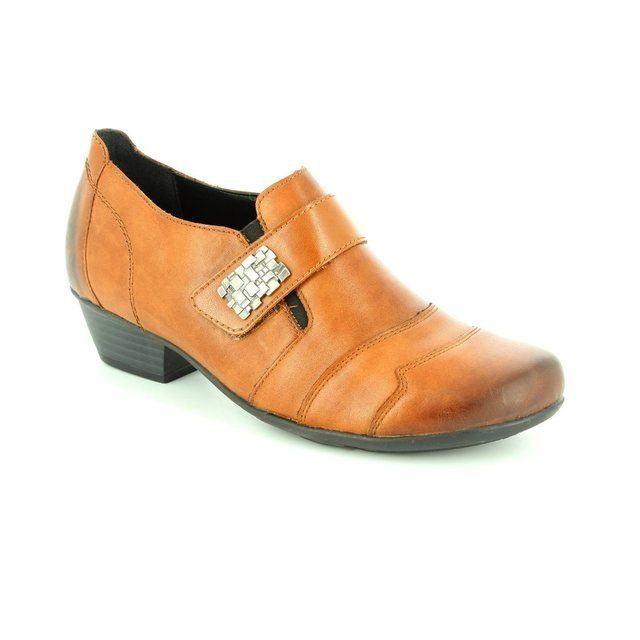 Remonte Heeled Shoes - Tan - D7333-24 MILLUX
