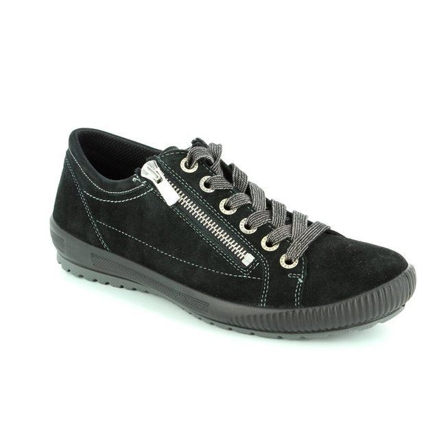 Legero Tanaro Gore 00818-00 Black lacing shoes