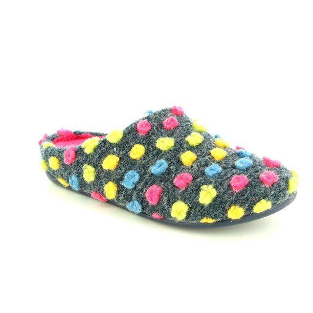 Heavenly Feet Smartie 6010-70 Navy slipper mules