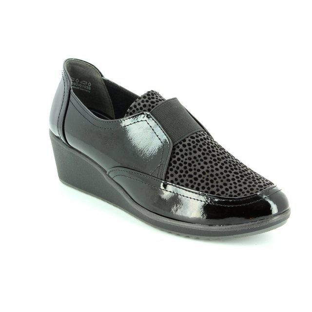 Marco Tozzi Castilep 24702-098 Black comfort shoes