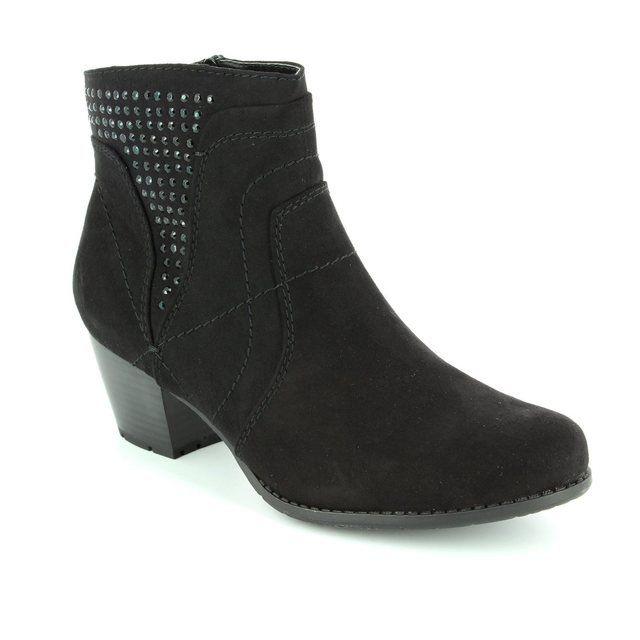 Jana Bastos 25367-001 Black ankle boots