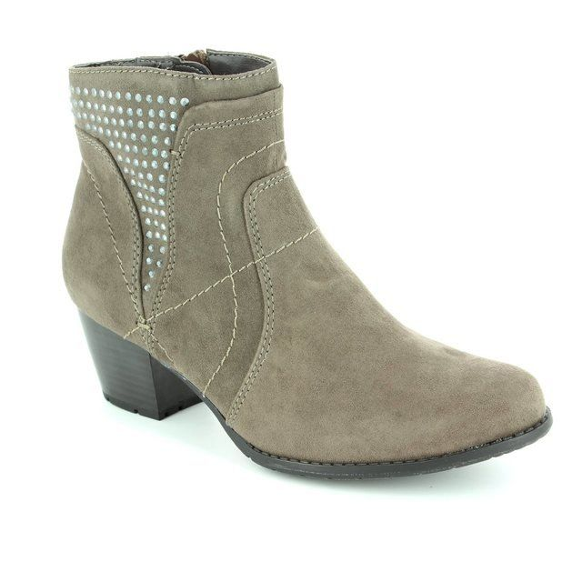 Jana Bastos 25367-314 Taupe ankle boots