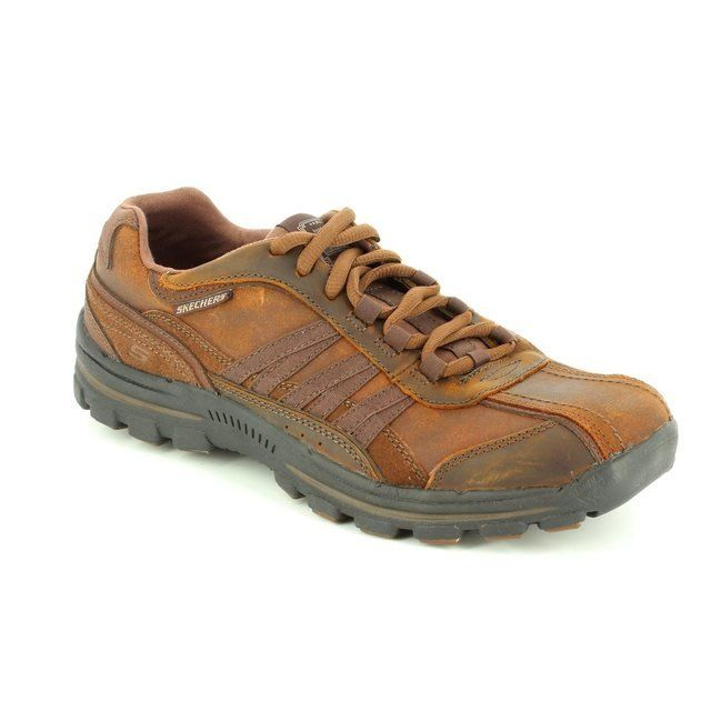 Skechers Braver Nostic 64661 BRMS Brown casual shoes