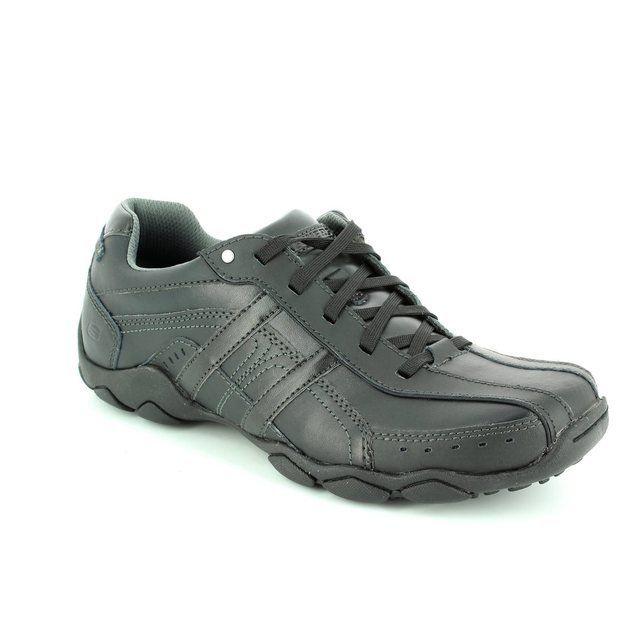 Skechers Murilo Diameter 64276 BBK Black casual shoes