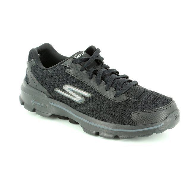 Skechers M Go Walk 3 A 53981 BBK Black trainers