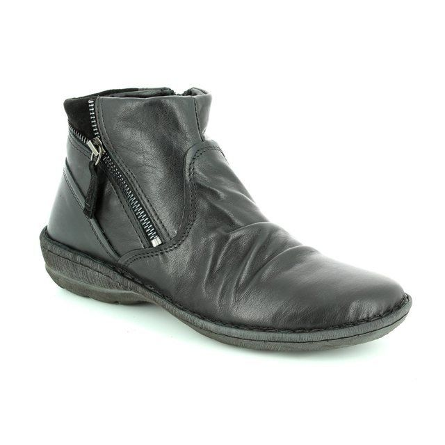 Relaxshoe Suffle 62 272010-30 Black ankle boots