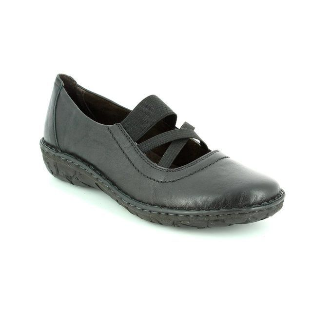 Relaxshoe Incabar 026747-30 Black comfort shoes