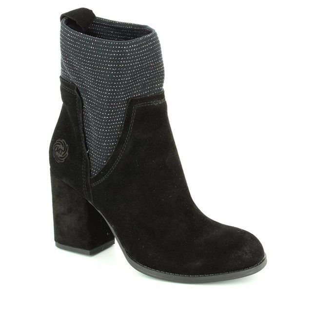 Marco Tozzi Verta 25381-096 Black ankle boots