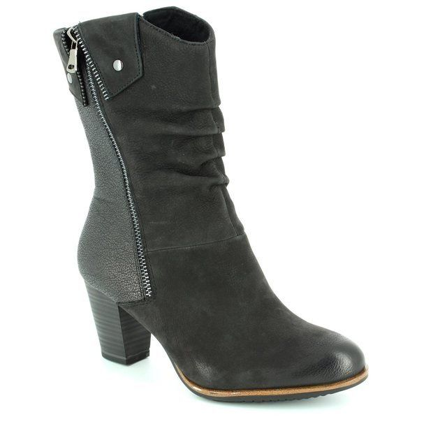 Tamaris 25356-001 Black ankle boots