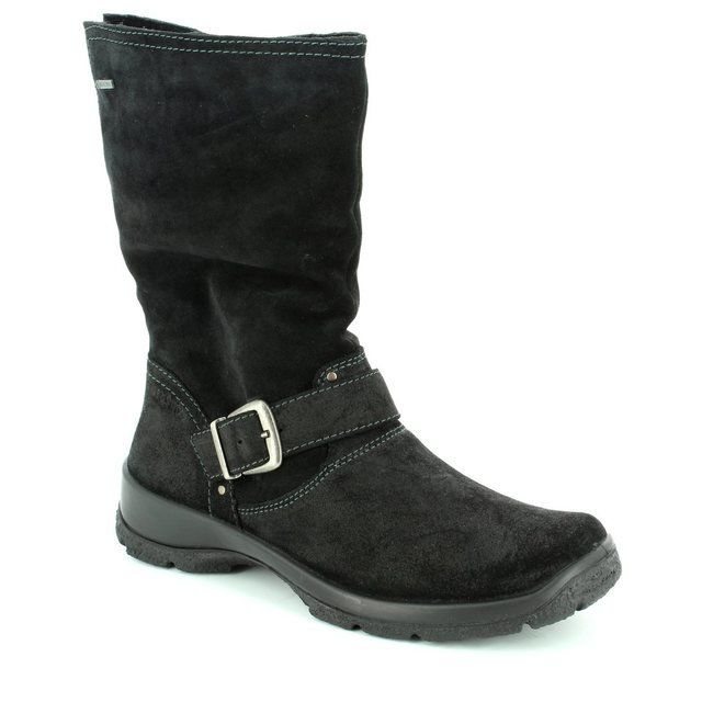 Legero Trekkmid Gore 00544-02 Black long boots