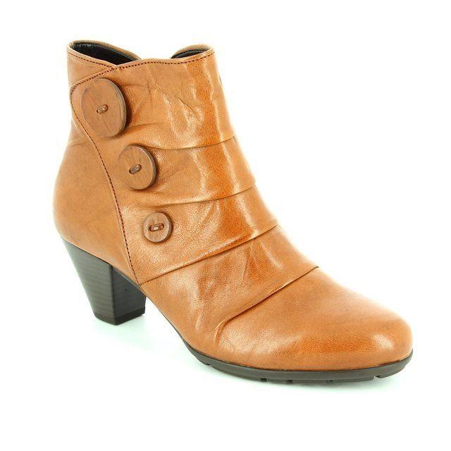 Gabor Spiritual 55.647.54 Tan ankle boots