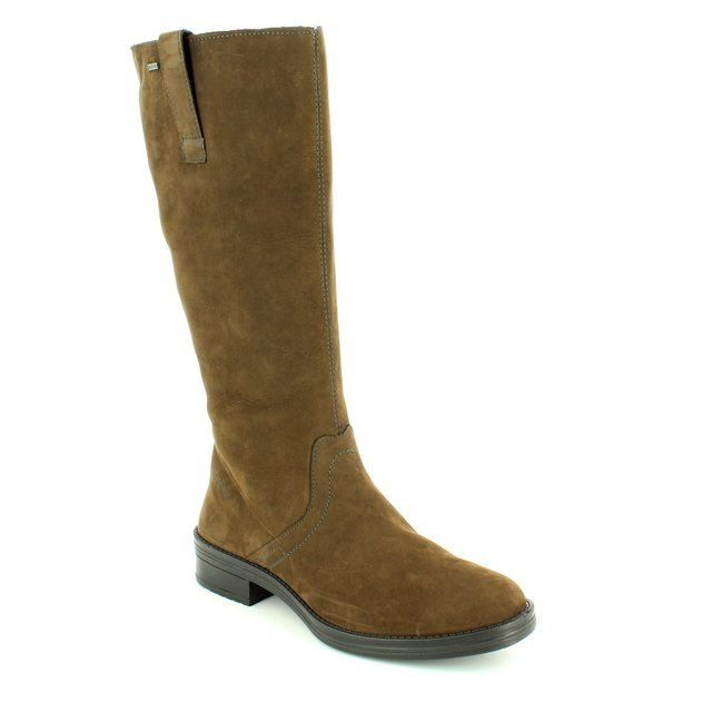 Legero Iseo Gore Tex 00699-98 Brown long boots