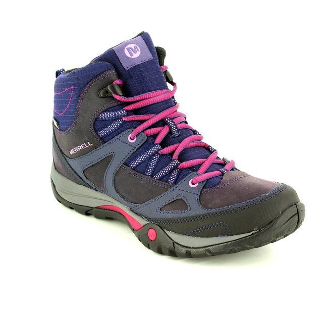 Merrell Boots - Outdoor & Walking - Purple multi - J37072/80 AZURA LAPIS MI