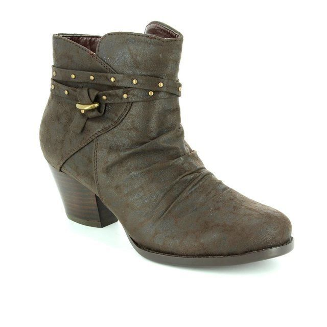 Lotus Philox Brown ankle boots