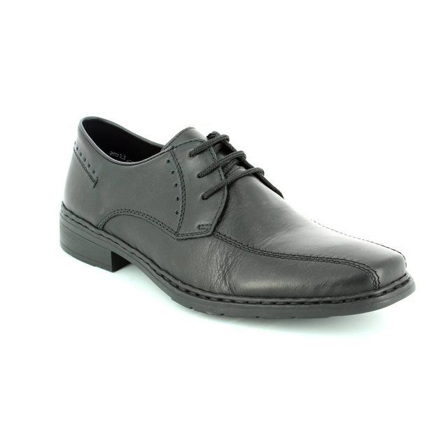 Rieker 10802-00 Black formal shoes