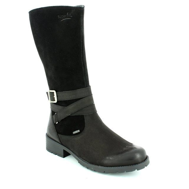 Superfit Girls Boots - Black - 00186/01 HEEL GORE TEX