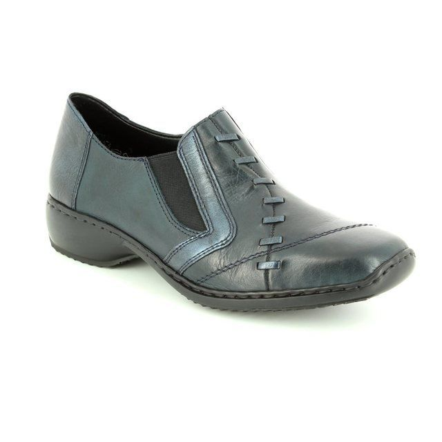 Rieker Everyday Shoes - Navy - L3874-14 DORWIST