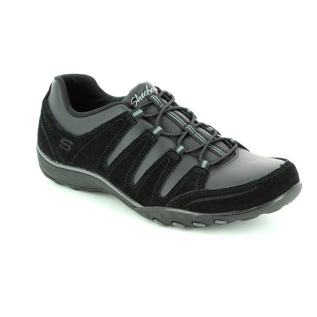 Skechers Tuned In 99916 BBK Black lacing shoes