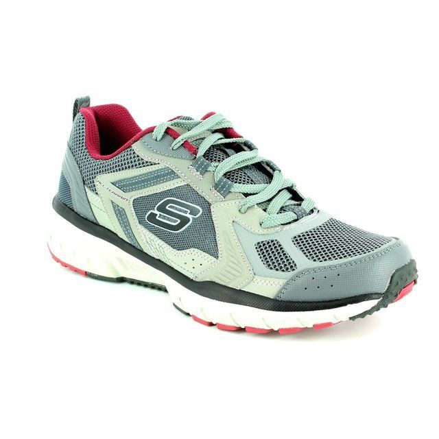 Skechers Trainers & Canvas - Grey - 51561/488 GEO TREK PRO
