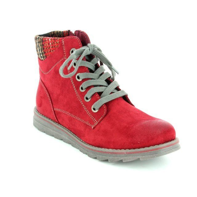 Marco Tozzi Grana 62 25208-518 Red ankle boots