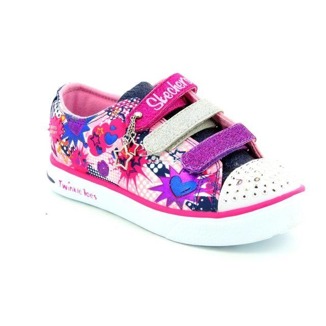 Skechers Girls Shoes - Pink - 10608/730 TWINKLE BREEZE