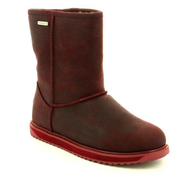 EMU Australia Paterson Lo W11349-80 Purple ankle boots