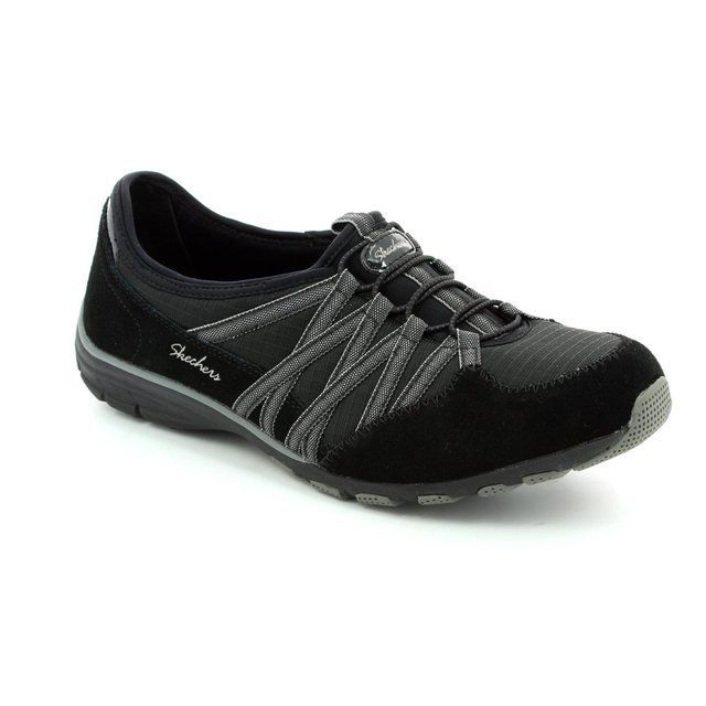 Skechers Everyday Shoes - Black-Grey - 22551/076 HOLDING ACES