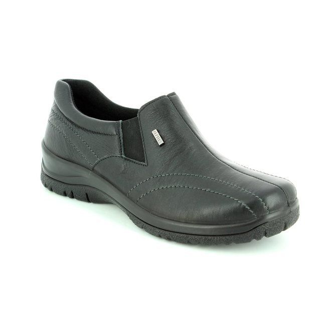 Alpina Eikelea Tex 4184-H Black comfort shoes