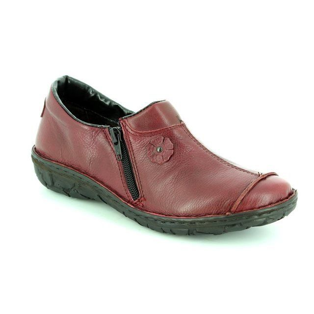 Relaxshoe Everyday Shoes - Wine - 026770/80 INCAP