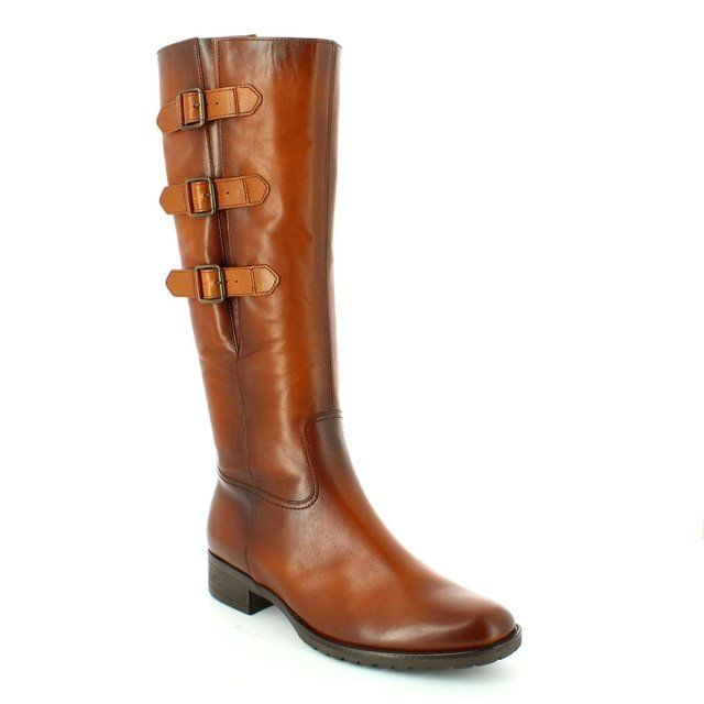 Gabor Nicole Adj Leg 51.617.22 Tan long boots