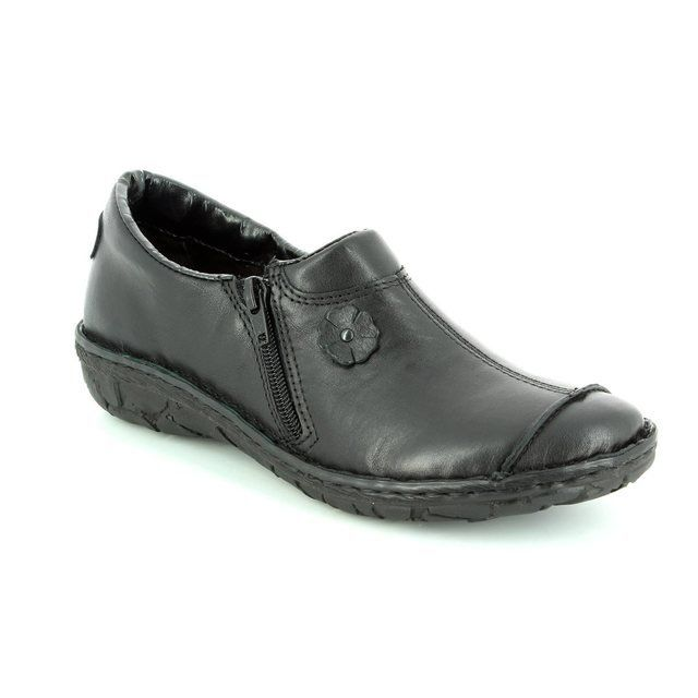 Relaxshoe 026770-30 Black comfort shoes
