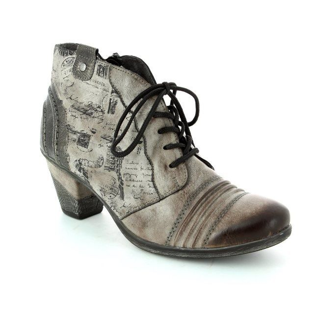 Remonte Dorndorf D8771-25 Taupe multi ankle boots