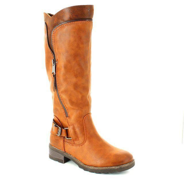 Marco Tozzi Dussi 26601-410 Tan long boots