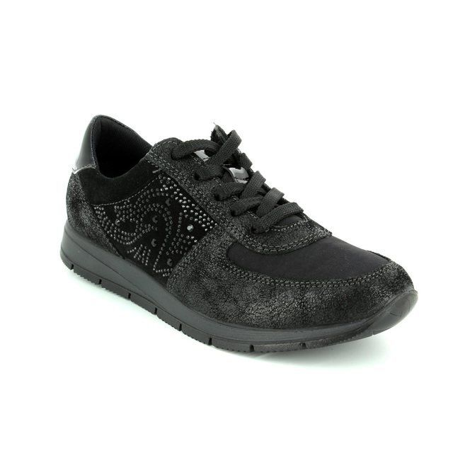 IMAC Edith 63322-7210011 Black lacing shoes