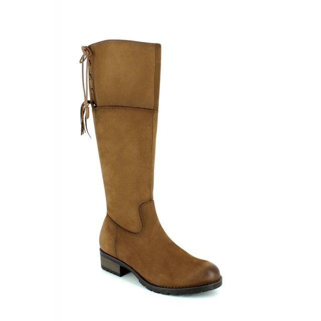 Tamaris 25509-311 Tan nubuck long boots