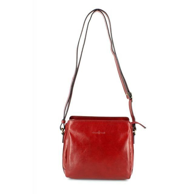 Gianni Conti Handbags - Red - 9403124/80 SHOULDER ANTIQU