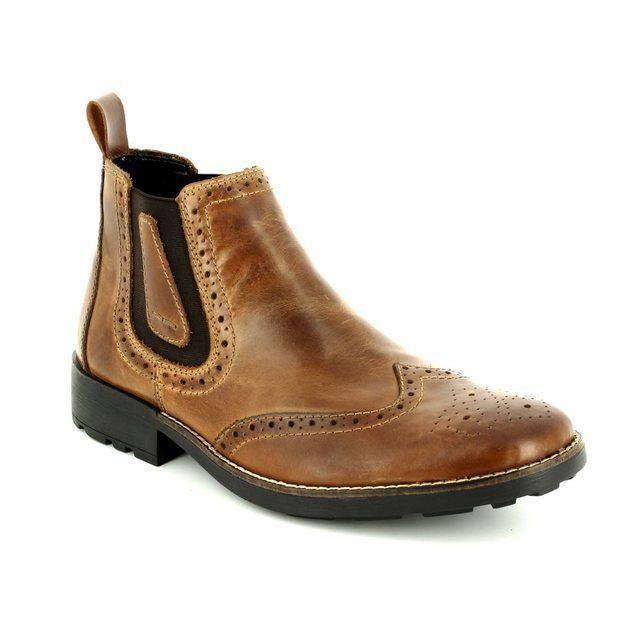 Rieker Boots - Brown - 36081-25 RONBRO