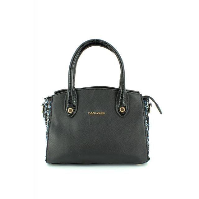 David Jones Channel 5205-33 Black multi handbag
