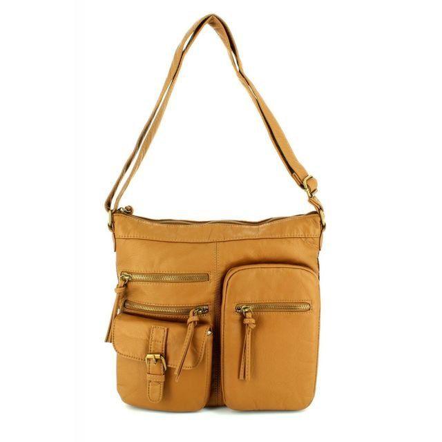 JEWN Pok 5580 5580-09 Tan handbag